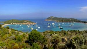 rondinara's bay, corsica, france