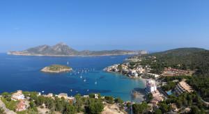 Sant Elm vu depuis la Torre de Sant Elm à Majorque