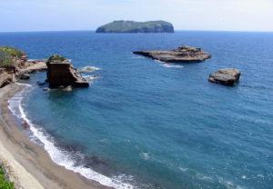 Isola di Santo Stefano vista da Ventotene