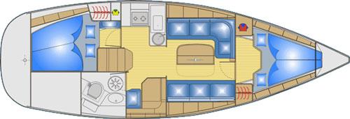 Navalia - Imbarcazione Bavaria 33 Cruiser 9