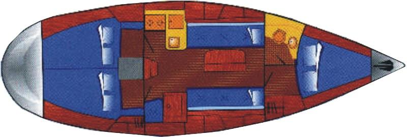 Navalia - Imbarcazione Bavaria Cruiser 34 9