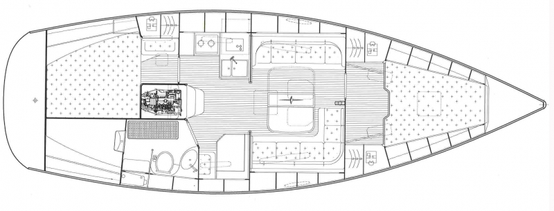 Navalia - Imbarcazione Bavaria 38 Cruiser 11