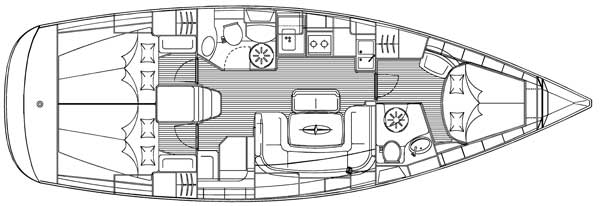 Navalia - Imbarcazione Bavaria 39 Cruiser 8