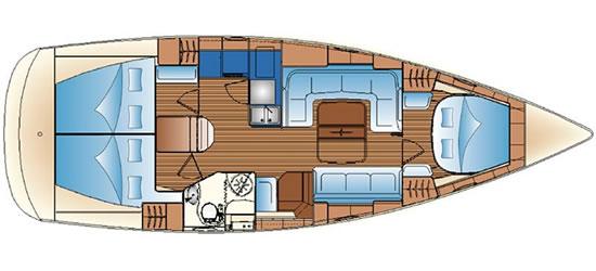 Navalia - Imbarcazione Bavaria 40 Vision 9