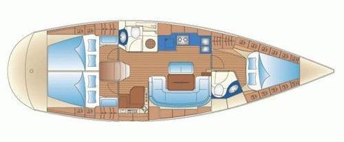 Navalia - Imbarcazione Bavaria 42 Cruiser 10