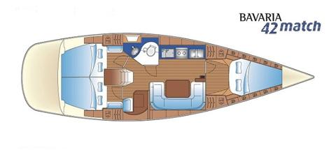 Navalia - Imbarcazione Bavaria 42 Match 8