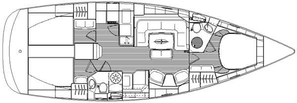 Navalia - Imbarcazione Bavaria 44 Vision 10