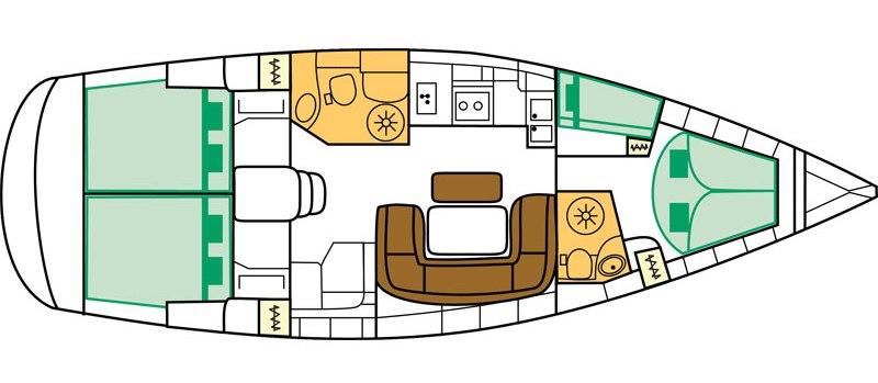 Navalia - Imbarcazione Bavaria 46 10