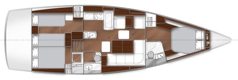 Navalia - Imbarcazione Bavaria 46 Vision 12