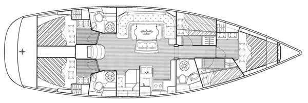 Navalia - Imbarcazione Bavaria 50 Cruiser 9