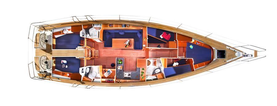 Navalia - Imbarcazione Bavaria 51 Cruiser 12