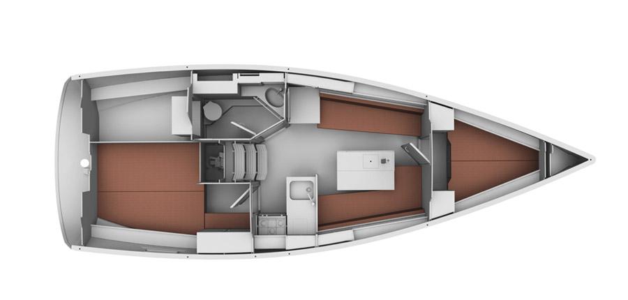 Navalia - Imbarcazione Bavaria Cruiser 32 9