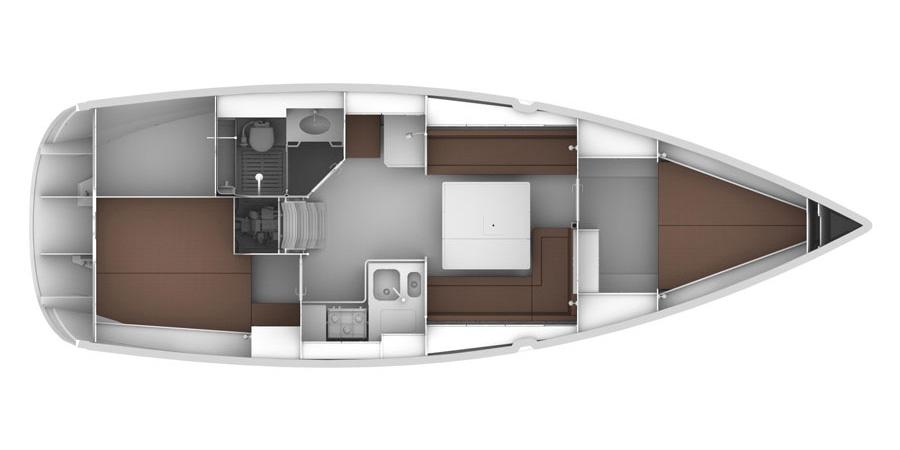 Navalia - Imbarcazione Bavaria Cruiser 36 9