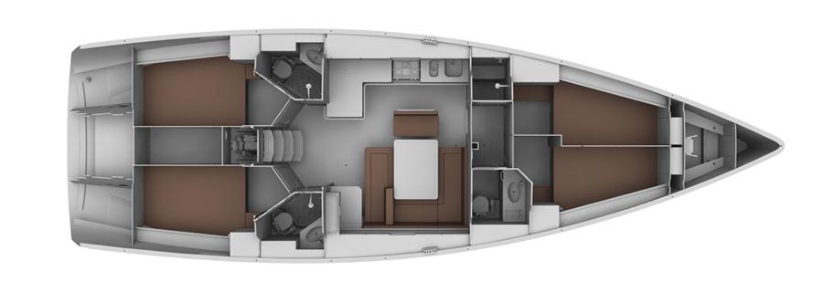 Navalia - Imbarcazione Bavaria Cruiser 45 14
