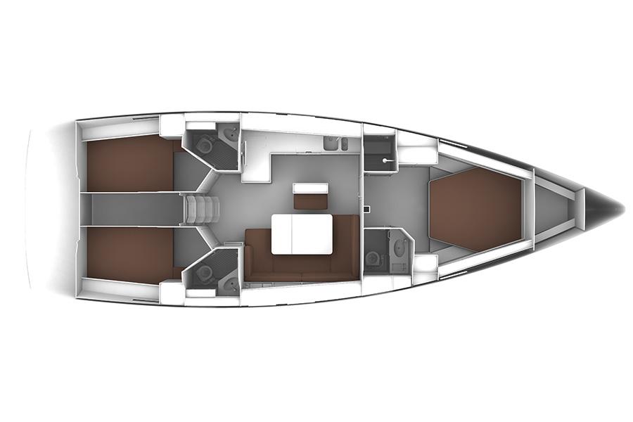 Navalia - Imbarcazione Bavaria Cruiser 46 – 3 Cab. 11