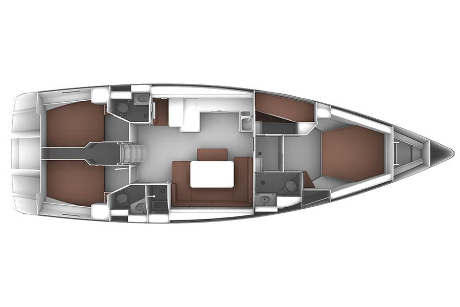 Navalia - Imbarcazione Bavaria Cruiser 51 15