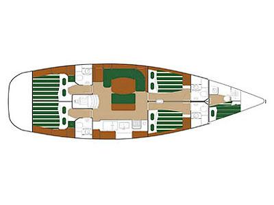 Navalia - Imbarcazione Beneteau 50 9