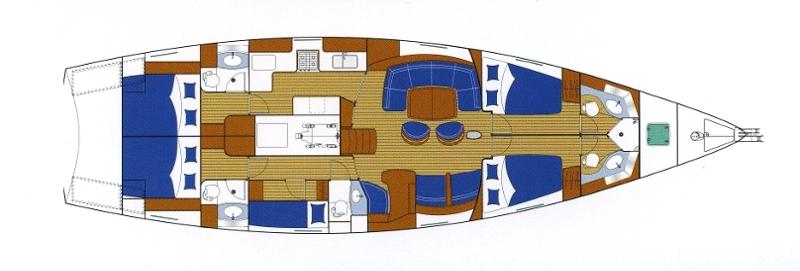 Navalia - Imbarcazione Beneteau 57 10