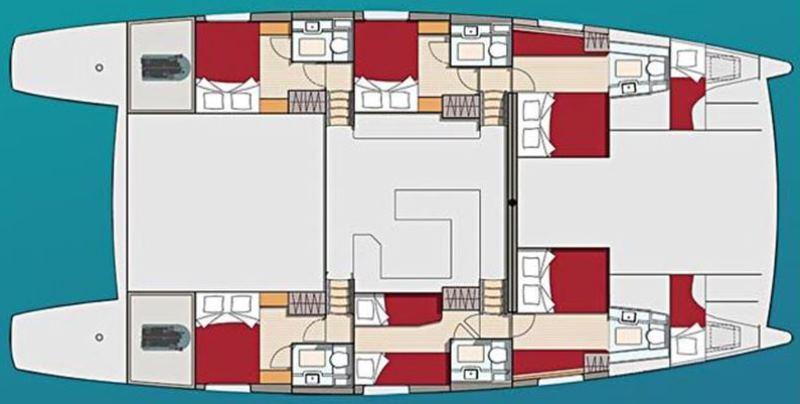 Navalia - Imbarcazione Dream 60 a Cuba 13