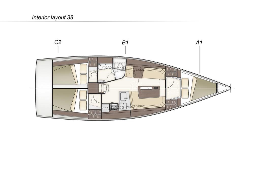 Navalia - Imbarcazione Dehler 38 2