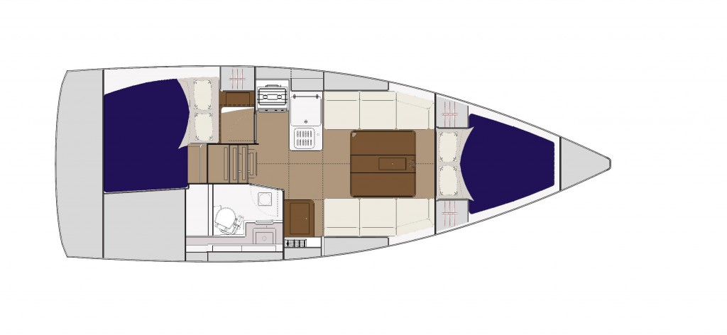Navalia - Imbarcazione Dufour 310 GL 12