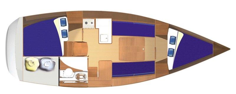 Navalia - Imbarcazione Dufour 325 9