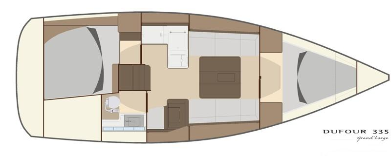 Navalia - Imbarcazione Dufour 335 GL 10