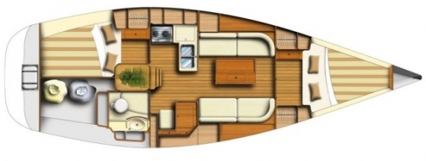 Navalia - Imbarcazione Dufour 34 Ev 10