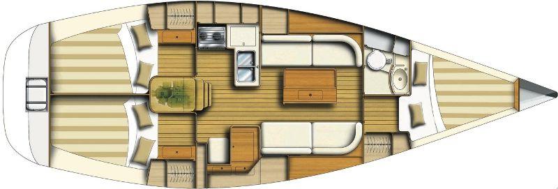 Navalia - Imbarcazione Dufour 34 10