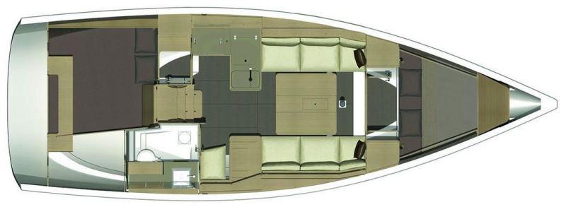 Navalia - Imbarcazione Dufour 350 13