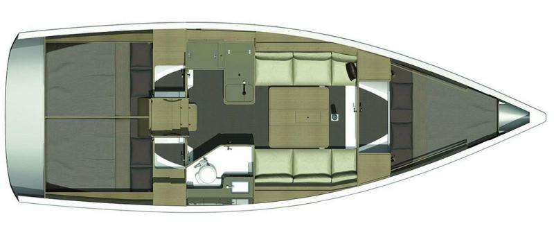 Navalia - Imbarcazione Dufour 350 Grand Large 13