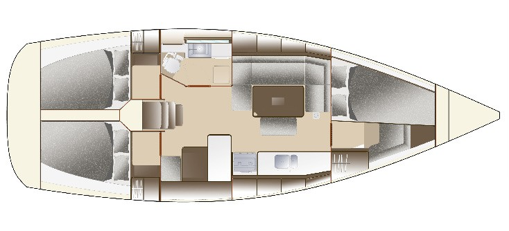Navalia - Imbarcazione Dufour 375 GL 11