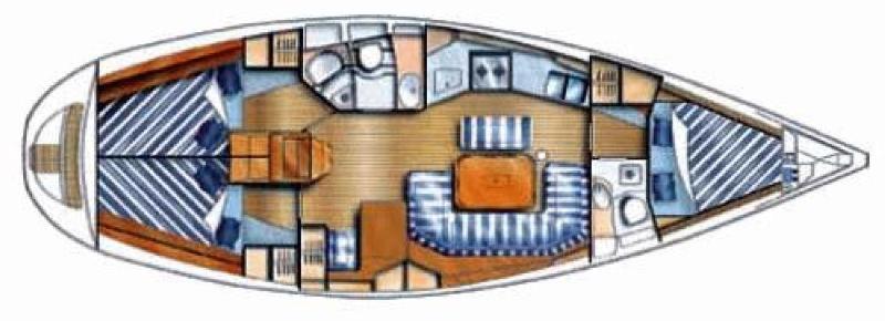 Navalia - Imbarcazione Dufour 38 Classic 10