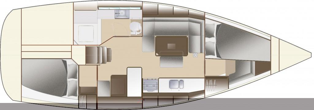 Navalia - Imbarcazione Dufour 380 Grand Large 12