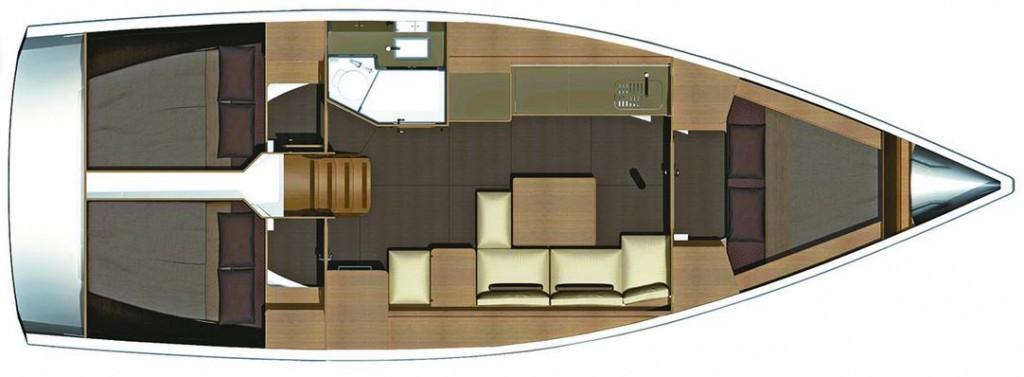 Navalia - Imbarcazione Dufour 382 GL 13