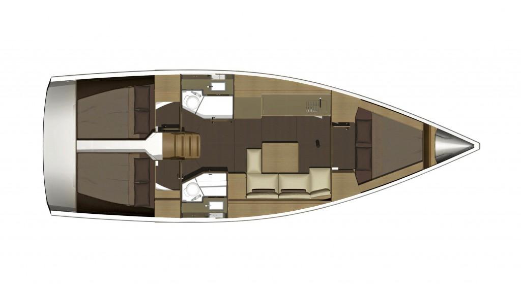 Navalia - Imbarcazione Dufour 382 Liberty 13