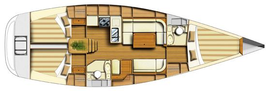 Navalia - Imbarcazione Dufour 40 11