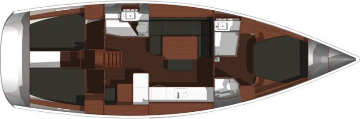 Navalia - Imbarcazione Dufour 445 – 3 cab. 11