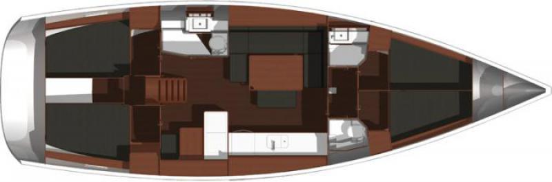 Navalia - Imbarcazione Dufour 450 GL 11