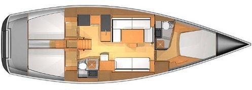 Navalia - Imbarcazione Dufour 45 E 12