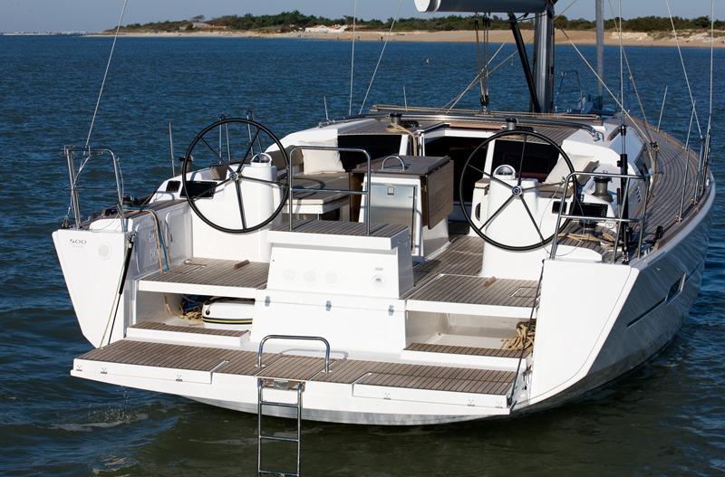 Navalia - Imbarcazione Dufour 500 – 4 cab. e 4 wc 5