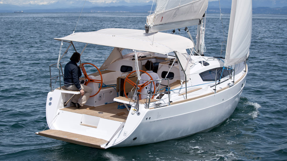 Navalia - Imbarcazione Elan 354 Impression 4