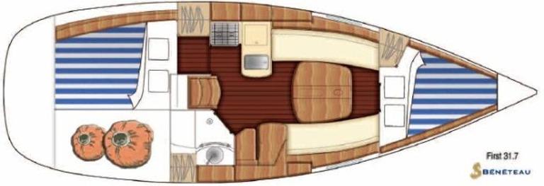 Navalia - Imbarcazione First 31.7 10