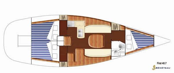 Navalia - Imbarcazione First 40.7 11