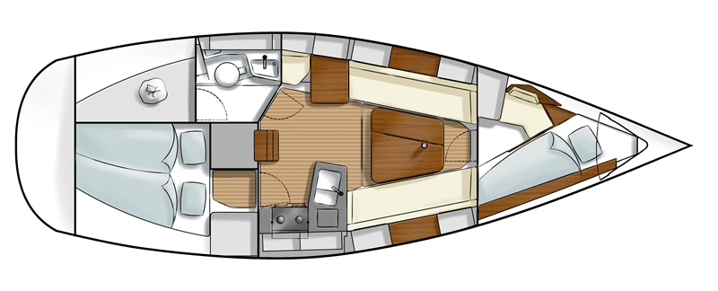 Navalia - Imbarcazione Hanse 315 13