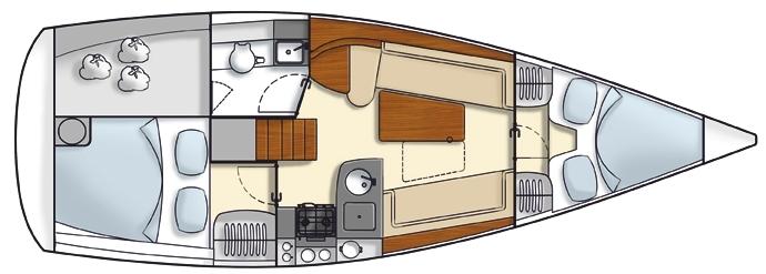 Navalia - Imbarcazione Hanse 325 10