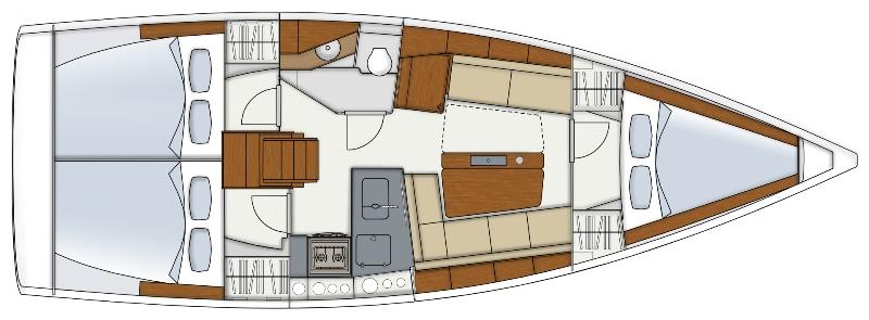 Navalia - Imbarcazione Hanse 345 12