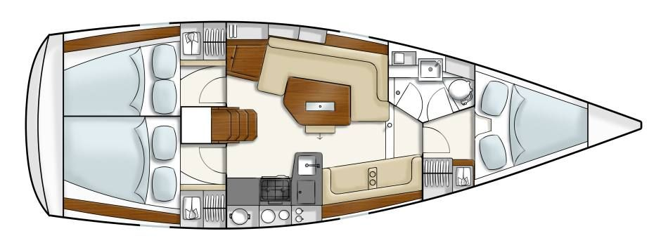 Navalia - Imbarcazione Hanse 350 10