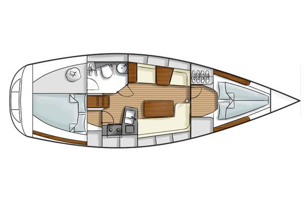 Navalia - Imbarcazione Hanse 355 11