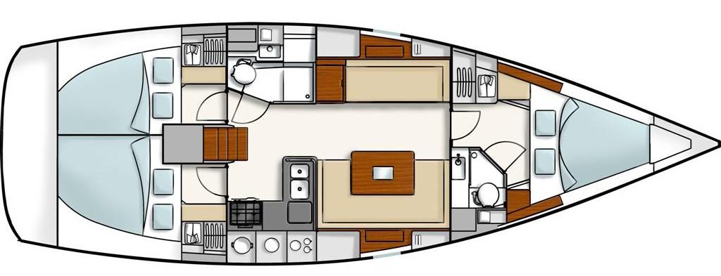 Navalia - Imbarcazione Hanse 400 9